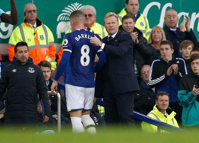 Koeman wint met Everton. Beeld Proshots