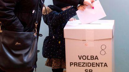 Dronken Slowaak gaat er vandoor met stembus