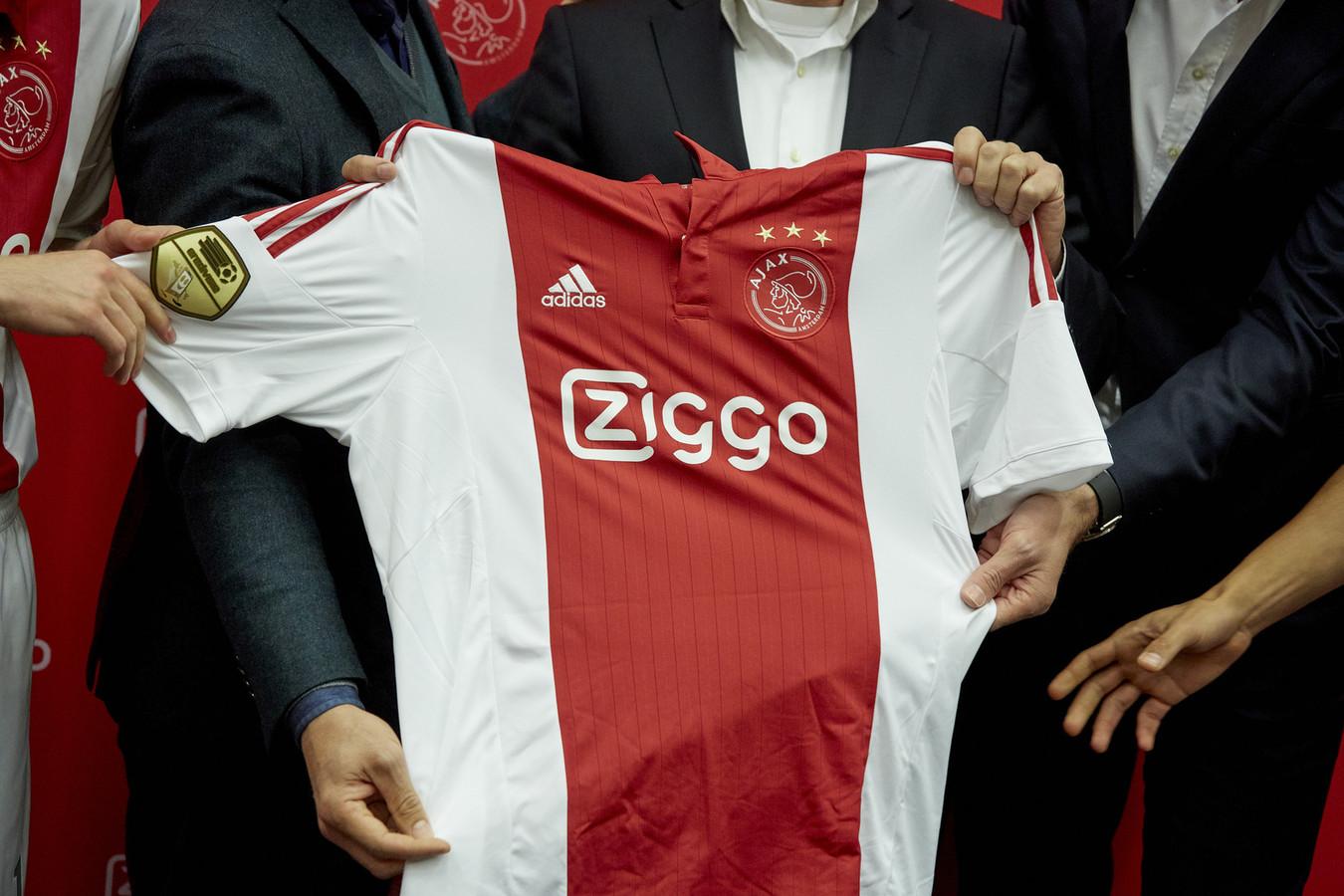 Kabelexploitant Ziggo als shirtsponsor