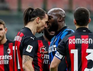 """""""Wil je over mijn moeder spreken?"""": woeste Lukaku en Ibrahimovic gaan zwaar in de clinch, scorende 'Big Rom' bekert uiteindelijk verder"""