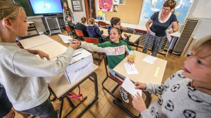 Verkiezingskoorts in school Kinderland