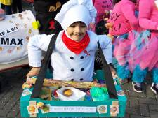 Kinderoptocht in Rucphen, daor zit wa in