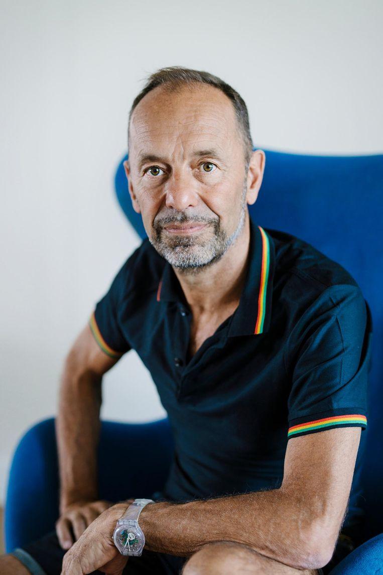 Jan Jelle van Hasselt: 'Toch mist de botenparade wel het doel als mensen alleen maar komen voor een gezellig dagje uit.' Beeld Marc Driessen