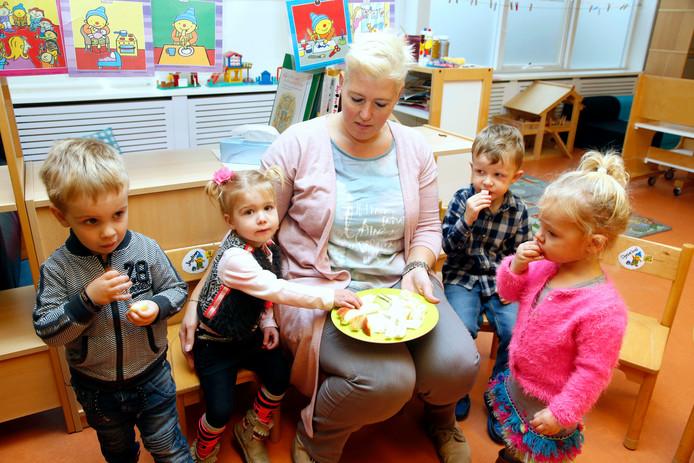 Startgroep voor twee- tot vierjarigen op basisschool Heidepoort in Heikant.