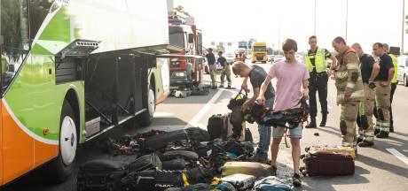 Oosterbeekse scouts na brand in bus alsnog op weg naar Praag