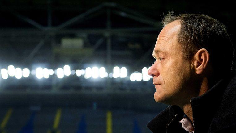 Bert van Oostveen, de favoriet voor de titel verliezer van het jaar, wist zijn baan te behouden. Beeld ANP