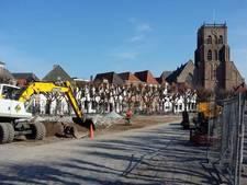 Waterleiding historische Markt Geertruidenberg heeft onvoldoende bluscapaciteit
