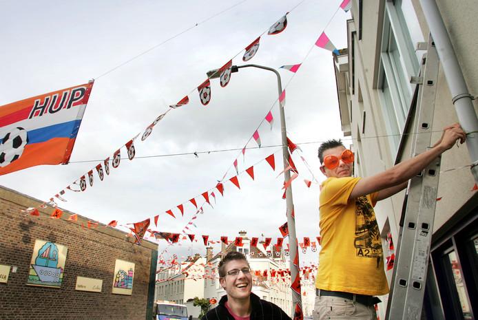 Geen Oranje-vlaggetjes in Nederlandse straten tijdens dit WK