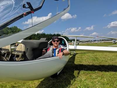 Verongelukte zweefvlieger Lars (29) was praktisch geboren op de Aeroclub Salland