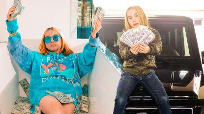 9-jarige rapster doet zich voor als 'rijkste kind van de eeuw', maar wordt op pijnlijke wijze ontmaskerd