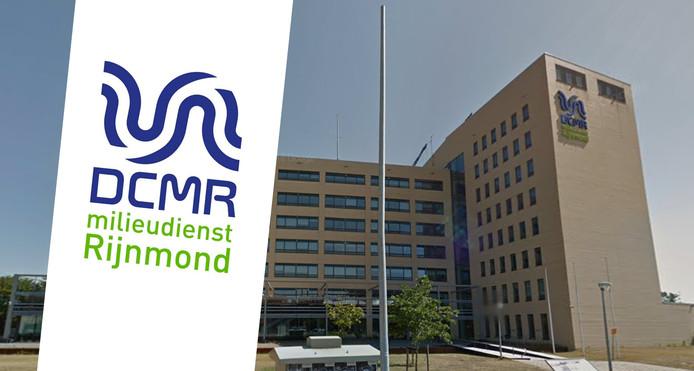 Het kantoor van de DCMR Milieudienst Rijnmond in Schiedam