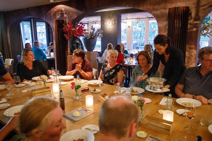 Over de Tong ging eten bij restaurant Kiewiet in Dedemsvaart.