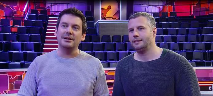 Ruben Nicolai en Tijl Beckand