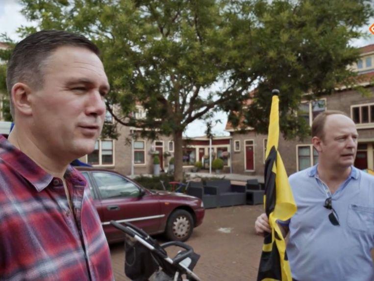 Constant Kusters en Richard Prein (r) in de VPRO-documentaire Ons Moederland. Beeld VPRO