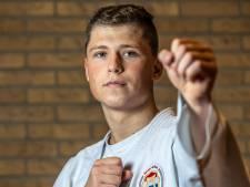 Joël van Moerkerk de beste bij ONK karate
