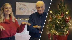 Jacques Vermeire brengt ode aan zijn kerstboom