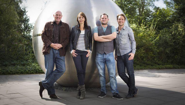 De Kennis van Nu is het wetenschapsprogramma van de NTR met André Kuipers, Diederik Jekel, Liesbeth Staats en Bart Meijer. Beeld null