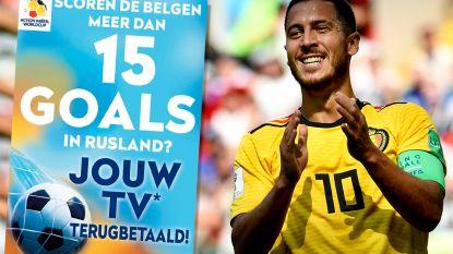 Hazard maakt dé Krëfel-goal: winkelketen betaalt tv's terug