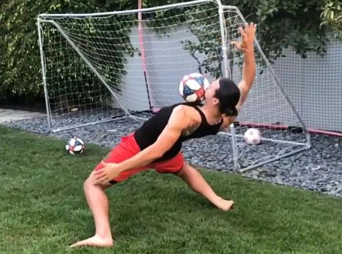 """Zlatan Ibrahimovic lance le """"Matrix Challenge"""""""