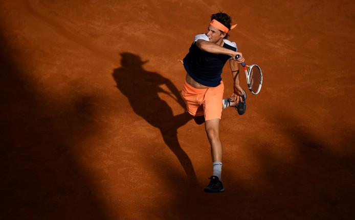 Thiem bezorgt Nadal een zeldzame nederlaag op gravel.