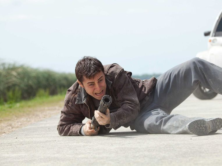 Joseph Gordon-Levitt in Looper (Rian Johnson, 2012). Beeld null