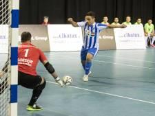 Oppermachtig FC Eindhoven zaalvoetbal vergeet aan doelsaldo te denken
