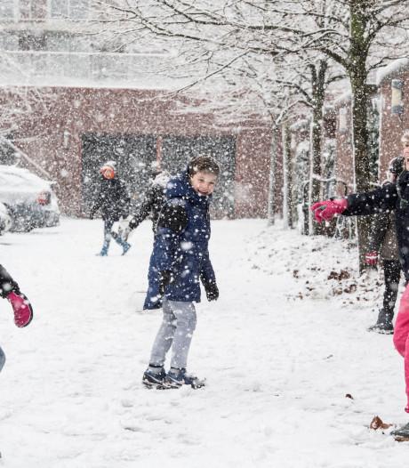 Ga jij foto's maken van de sneeuw?