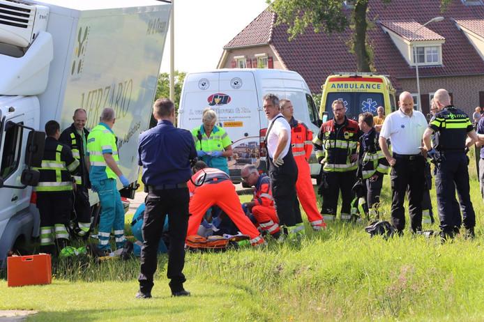 Ongeval in Oost West en Middelbeers