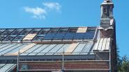 Indrukwekkende lichtstraat in dak van douaneloods krijgt meer en meer vorm : eerste 84 van 450 zonnepanelen geplaatst