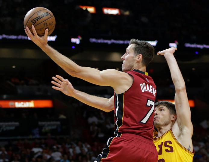 Goran Dragic (7) als speler van Miami Heat.
