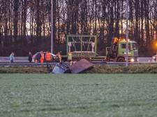 A6 bij Emmeloord afgesloten: Schade aan wegdek na ongeluk groter dan gedacht