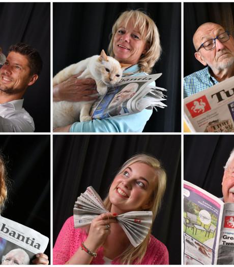 Lezers vertellen over 'hun' Twentsche Courant Tubantia: 'Mijn dag begint en eindigt met de krant'