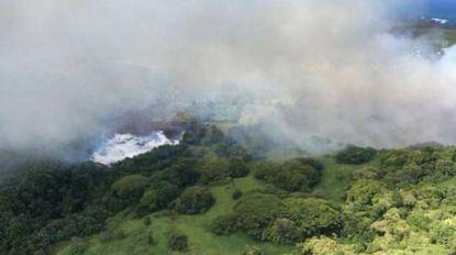 Meer in Hawaii in paar uur verdampt door lava uit vulkaan