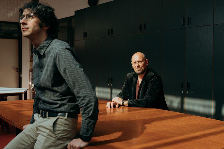 Directeurs Mattias Paglialunga (links) en  Bart De Roeck zetten met hun team alles op alles om klaar te staan na de paasvakantie.