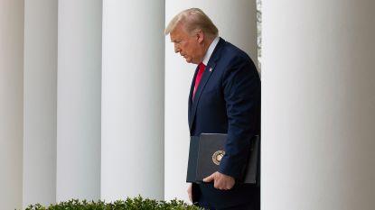 Trump heeft twee met corona besmette mensen ontmoet
