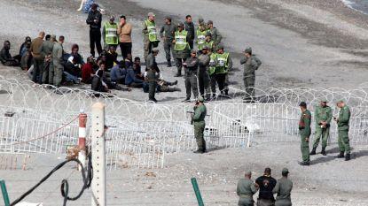 400 migranten bestormen Spaanse enclave Ceuta