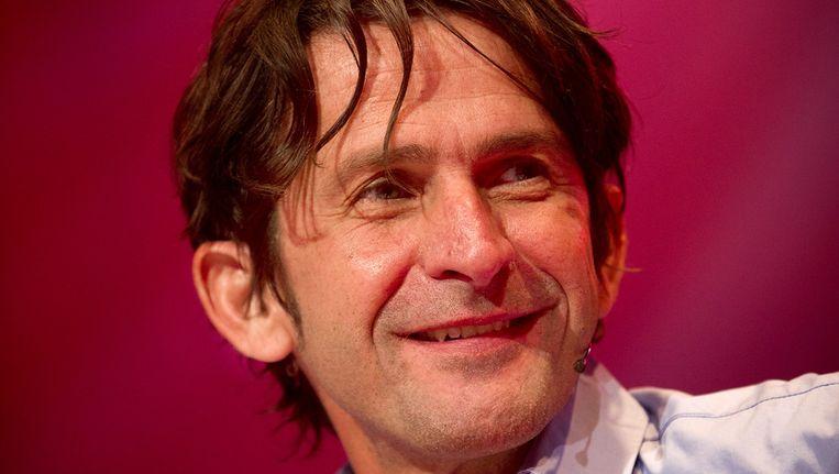 Cornald Maas presenteert zaterdag 25 augustus op het Museumplein in Amsterdam het speciale 'Songfestival Symfonia'. Beeld null