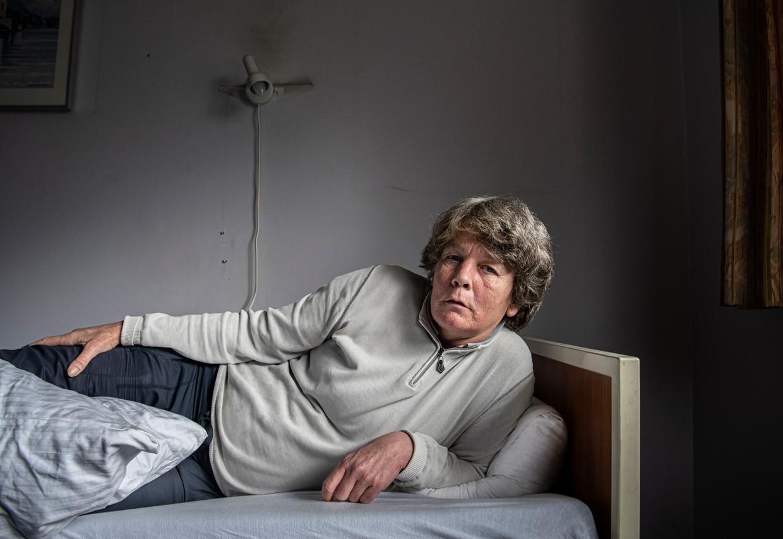 Alette Orie, twee dagen voordat ze euthanasie liet plegen.