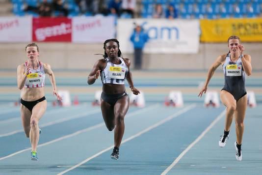 A Gand, samedi dernier, Mariam Oulare a battu, pour la deuxième fois en moins de dix jours, le record de Belgique junior du 60 mètres.