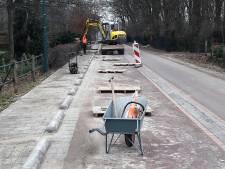Het blijft passen en meten op de Loonse fietsstraat