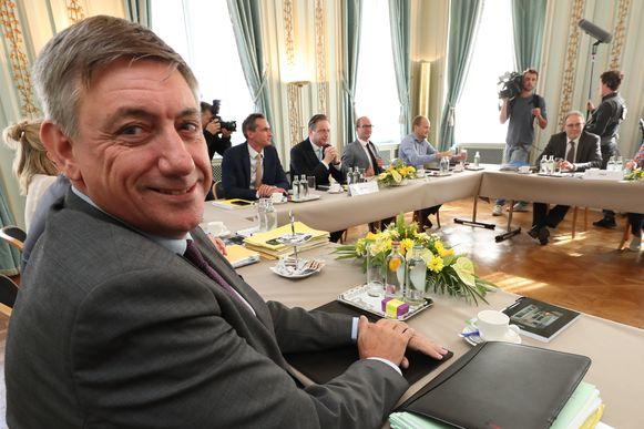 Jan Jambon (N-VA) werd gisteren door zijn partij aangewezen als Vlaams formateur.
