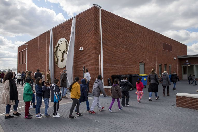 Het asielzoekerscentrum  in Ter Apel.  Beeld ANP