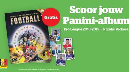 Panini lanceert nieuw album met Gouden Schoen-pagina: Het Laatste Nieuws helpt u morgen met afhaalbon op weg
