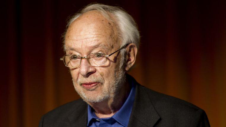 Journalist, columnist en essayist Henk Hofland (83). ©ANP Beeld