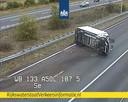 De A50 ging grotendeels dicht na het ongeluk.