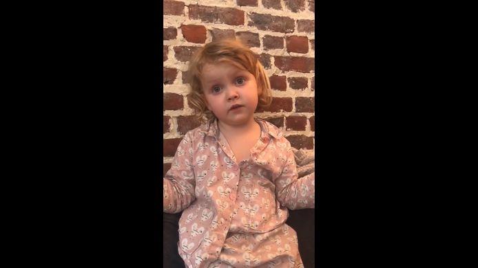 Le message touchant d'une adorable petite fille émeut la Toile.