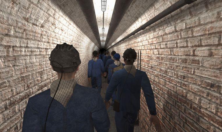 Je waant je als een echte mijnwerker tijdens C Mine Expeditie.