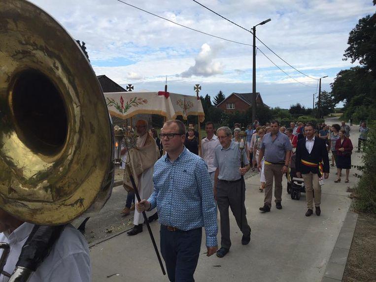 Grote opkomst voor processie Attenrode
