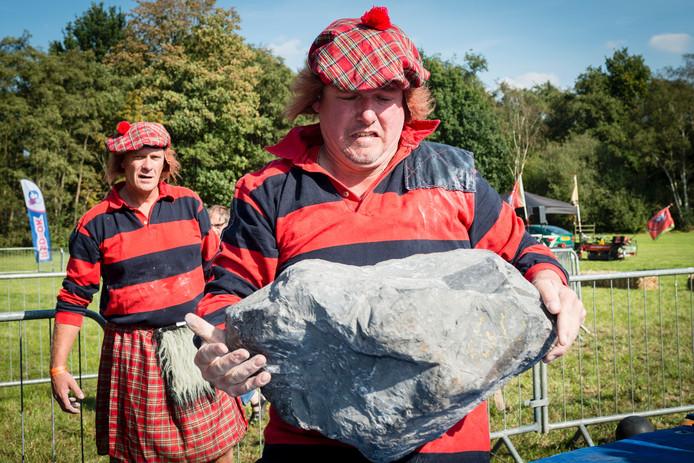 De Highland Games waren dit jaar in Wouwse Plantage.