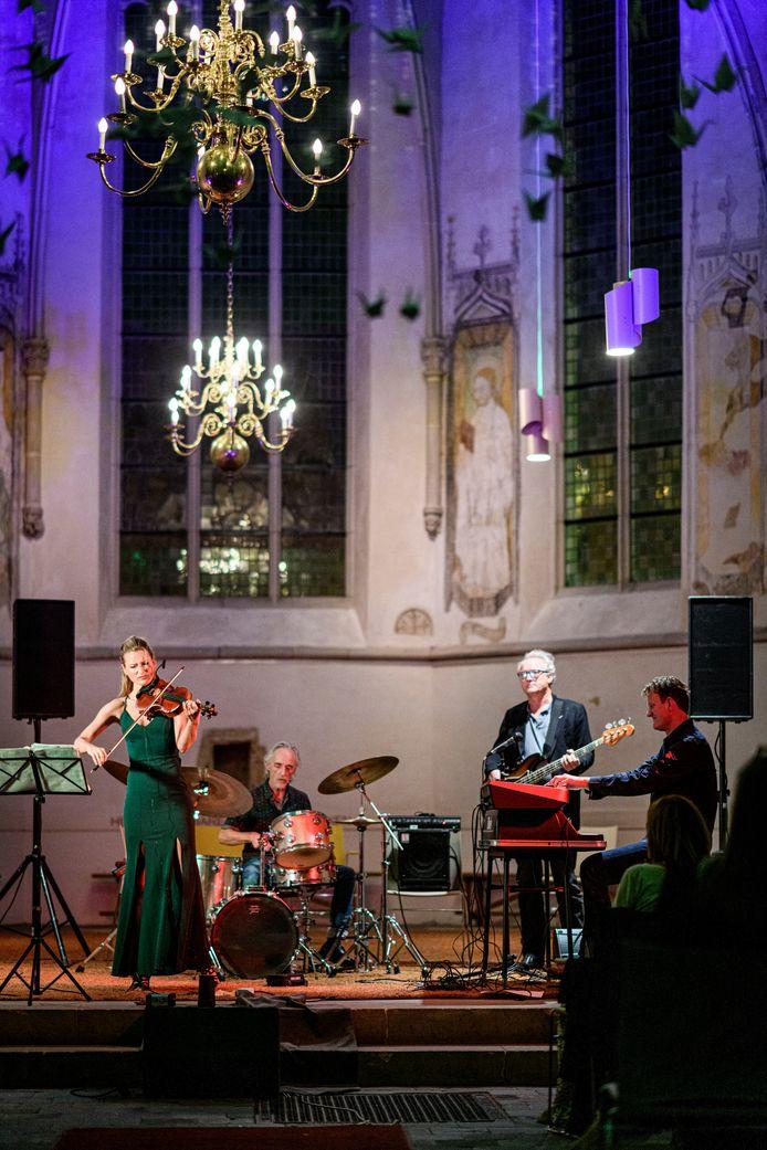 Voor het eerst jazz in de kerk. Vanwege corona wijken de muzikanten uit naar de Oude Mattheus